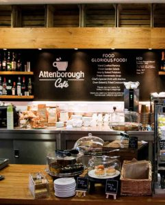the attenborough cafe