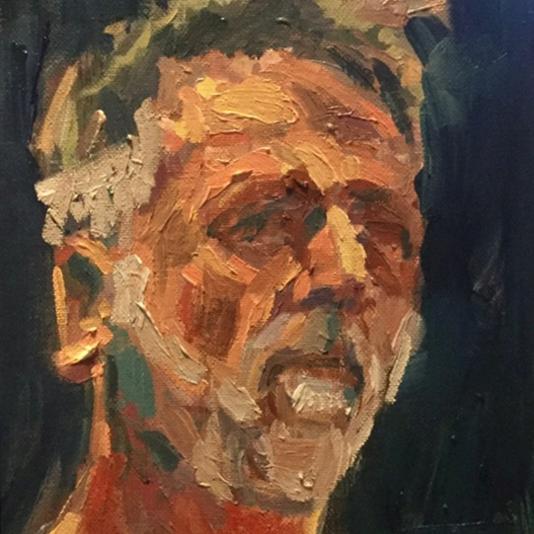 Self Portrait of Jeremy Webster
