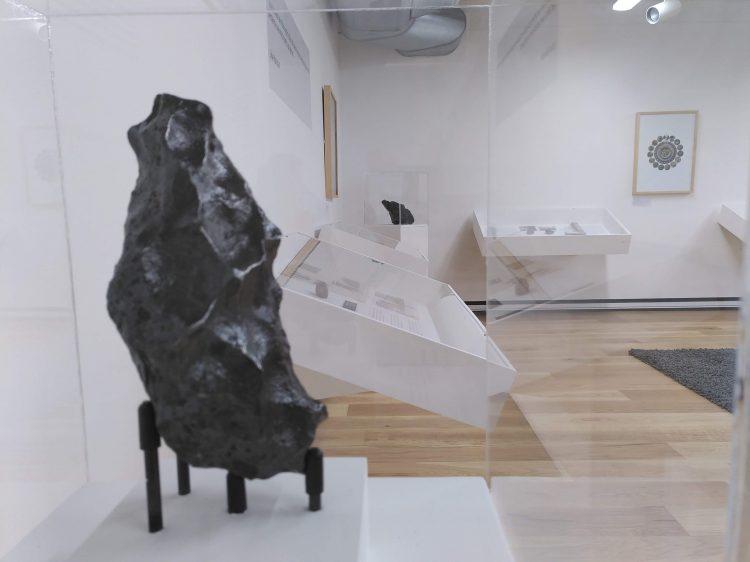 a large, iron meteorite