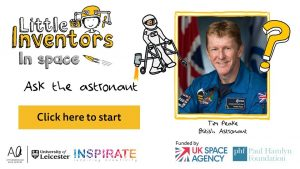 Tim peake and the little inventors