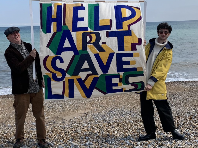Help art save lives